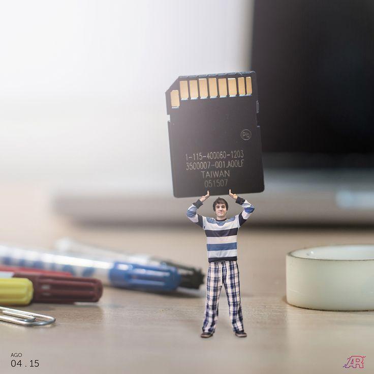 a big memory card