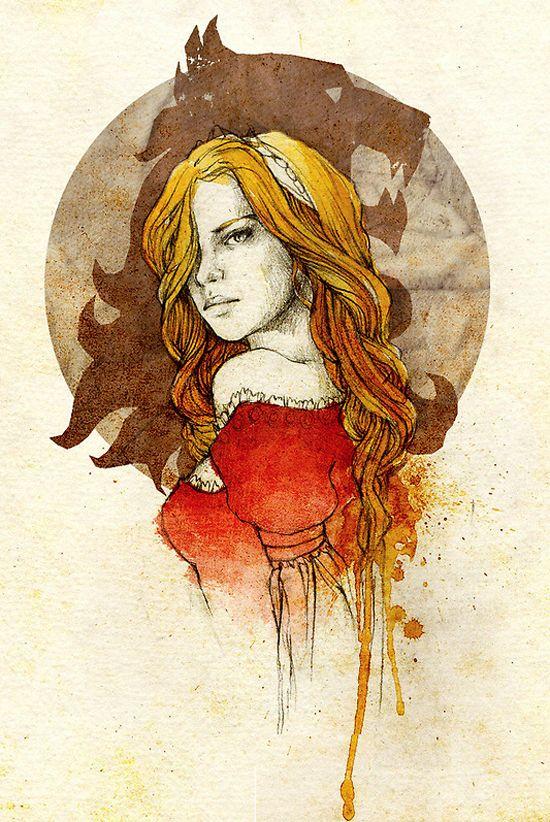 Cersei Lannister by Elia Fernandez