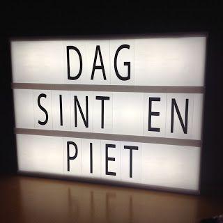 Fie bakt, haakt en naait: Dag Sint & Piet...