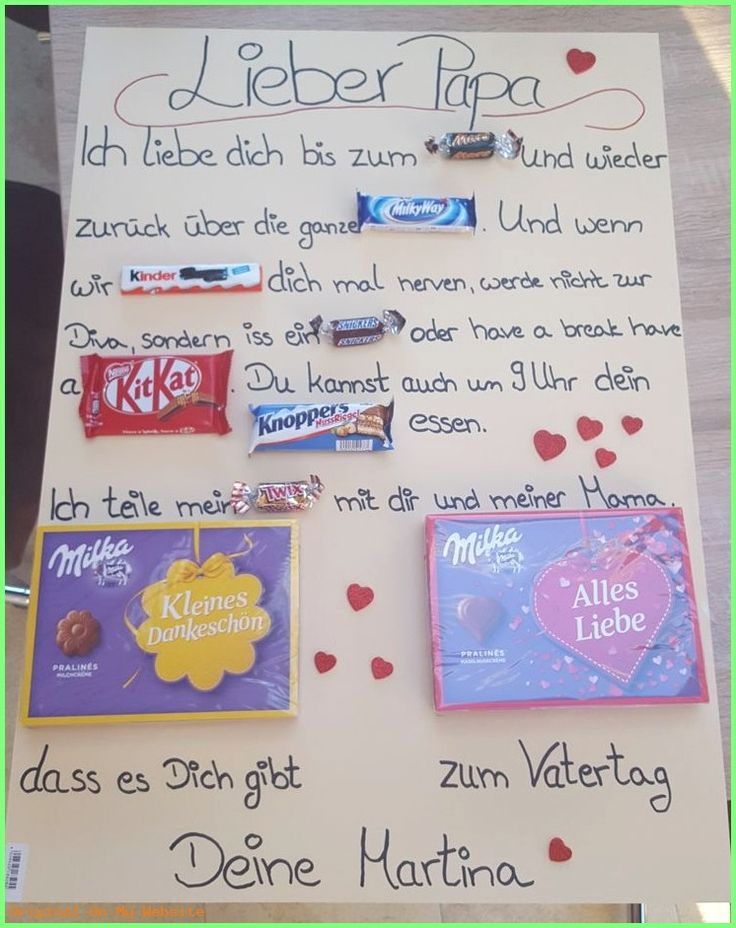 Children's Day Gift 2019: Father's Day Gift # Sweets # #fathersdaygiftsfromkidscrafts …