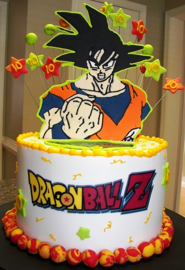 Basic Dragon Ball Cake
