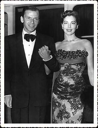 If you were born in 1952, Frank Sinatra and Ava Gardner were the hot Hollywood couple - only it was Ava who was the star then -- they married the previous year and Frank was in a big old career slump.