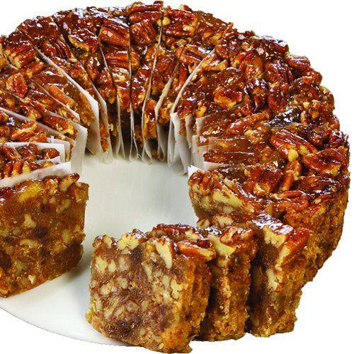 Mail Order or Buy Online Pineapple Pecan Cake, Texas Fruitcakes, Christmas Cakes, Fruit Cake, Corsicana- Collin Street Bakery