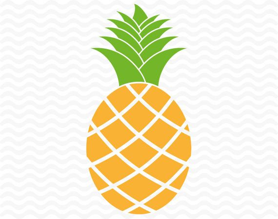 Pineapple Svg Dxf Eps Vinyl Cut Files For Use With