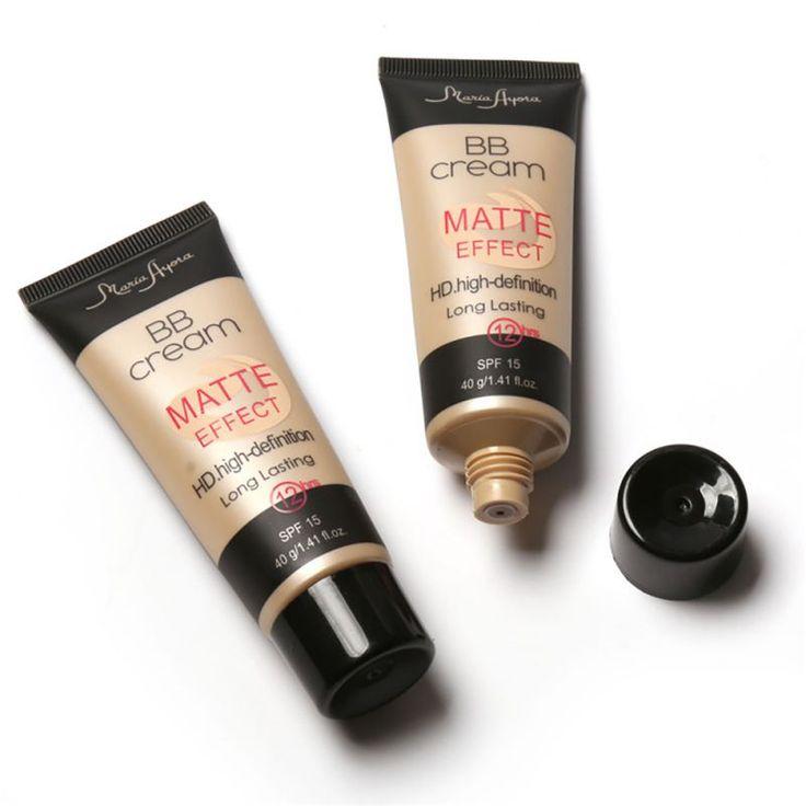 Professional Ladies Make Up SPF 15 Sun Block Matte BB Cream Natural Long Lasting Face Concealer Makeup Base BB CC Cream 1 PCS