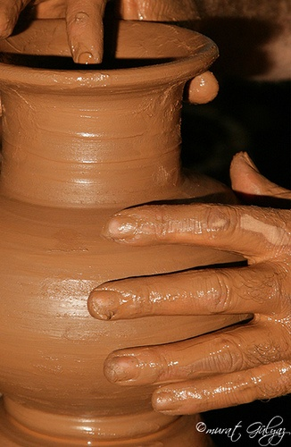 Avanos Pottery is a traditional Ottoman Art. If you want to discover Cappadocia, you should see this.