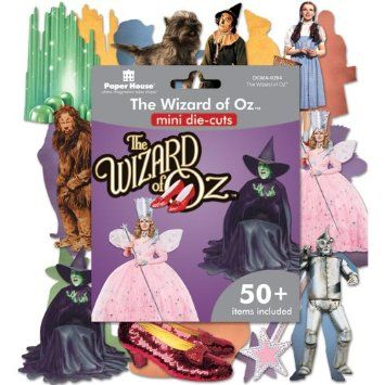 Amazon.com: Paper House Mini Die Cuts 50+/Pkg-Wizard Of Oz: Arts, Crafts & Sewing
