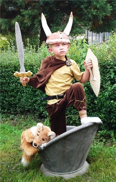 Как сшить костюм викинга