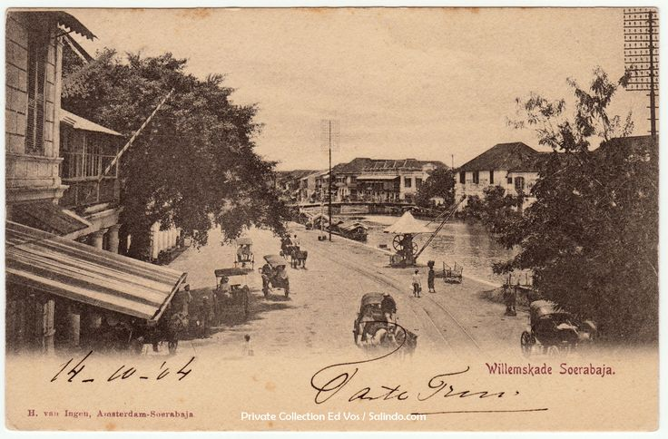 Willemskade Surabaya / Soerabaja