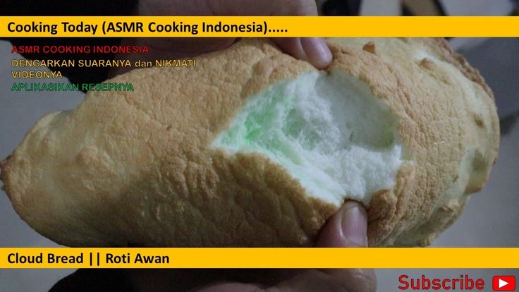 Resep Cloud Bread Roti Awan Tik Tok Asmr Cooking Indonesia Cloud Bread Roti Resep