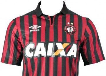 Clube Atlético Paranaense 2014 Umbro Home and Away Jerseys