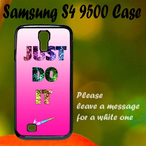 Nike Just Do It Pink Cute Samsung S4 i9500 Case, Plastic Case, Best Case