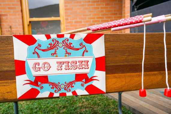 Carnival Party Game Signs by SunshineParties on #Etsy #CarnivalPartySigns #CarnivalGameSigns
