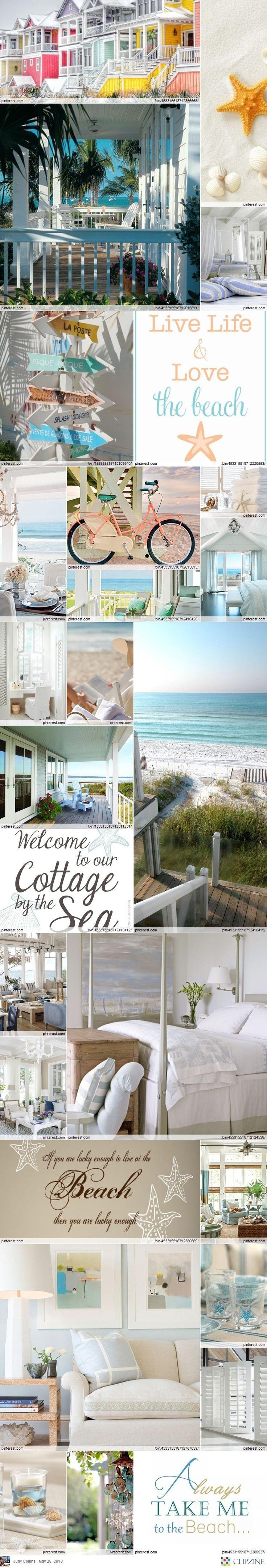 Coastal Cottage Treasures....someday... for my beach house ;)