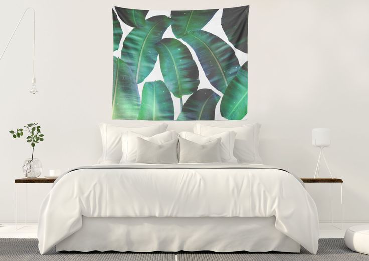 Just sold a Wall Tapestry of my artwork titled 'Cosmic Banana Leaves'! Order yours or see all products carrying this design here: https://www.redbubble.com/people/83oranges/works/22435296-cosmic-banana-leaves-redbubble-lifestyle?p=tapestry&size=large
