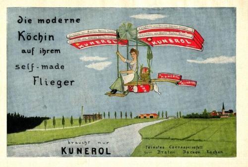 12-Original-german-ads-1909-1971-AIRSHIPS-AND-AIRPLANES