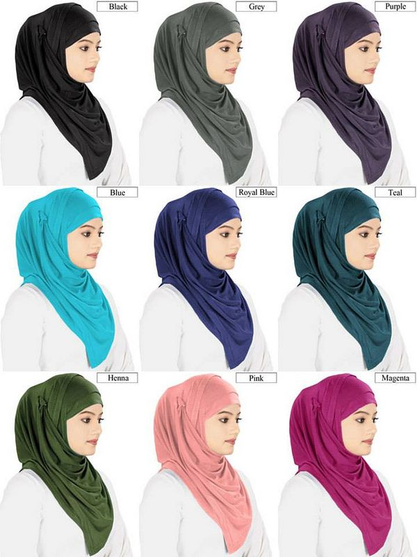 Beautiful Jersey Hijab and Band
