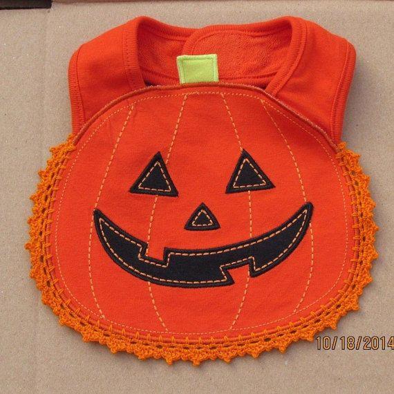 Free Shipping Halloween Pumpkin Costumes Baby by mkhrcrochet1965