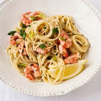 Linguine with Fiery Prawns Recipe Ideas - Healthy & Easy Recipes