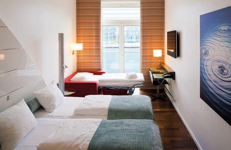 Una bella y funcional habitación