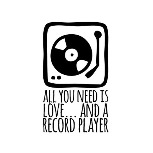 Spin some tunes and get your vinyl game on! #records