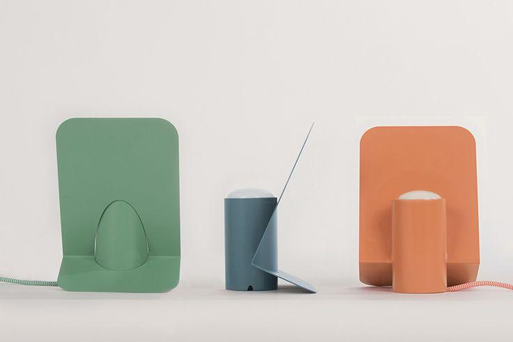 minimal vela aluminum table lamp by mario alessiani for offiseria - designboom   architecture