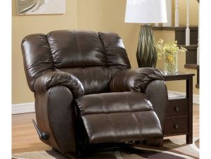 Shop For The Ashley Signature Design Dylan DuraBlend   Espresso Rocker  Recliner At Rooms And Rest   Your Mankato, Austin, New Ulm, Minnesota  Furniture ...
