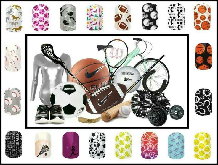 Jamberry sports nail wraps Www.jensjamnails.jamberrynails.net