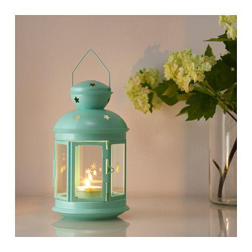 ROTERA Lanterne bougies ch-plat, int/ext  - IKEA
