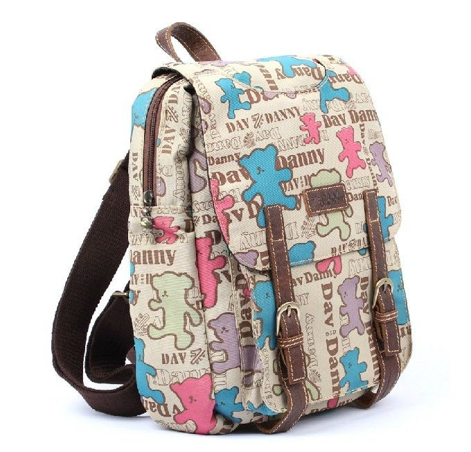 Unique backpack, school backpack for girls