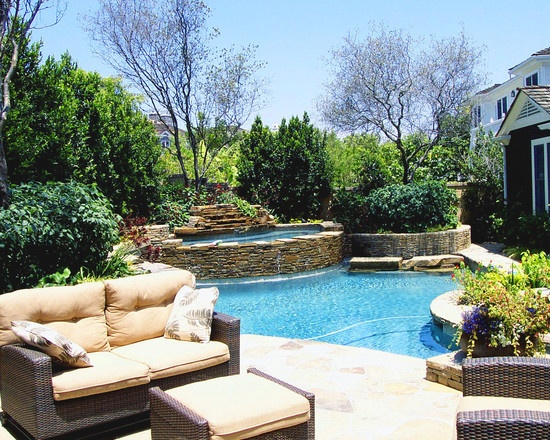 Find This Pin And More On Swimming Pool/Spa Ideas By Azdeb.  Pool And Spa Designs