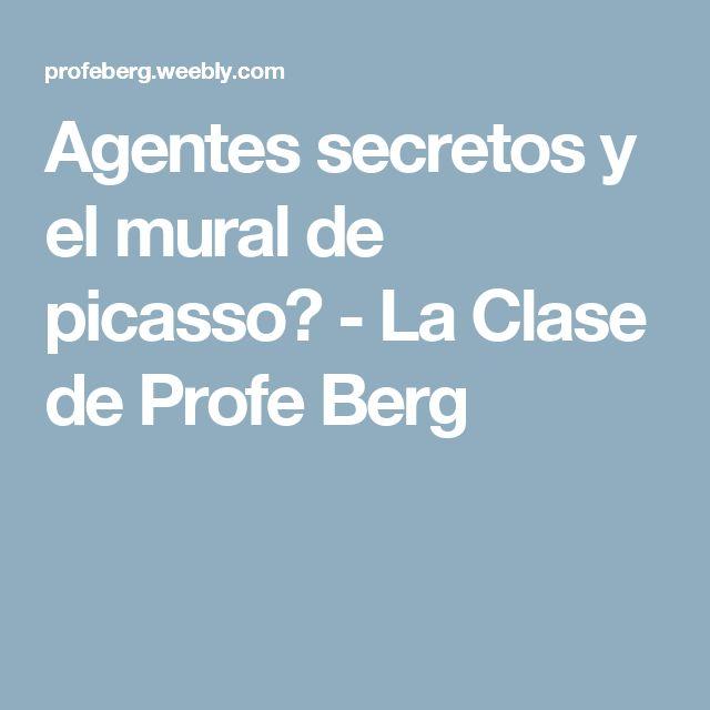 Agentes secretos y el mural de picasso - La Clase de Profe Berg