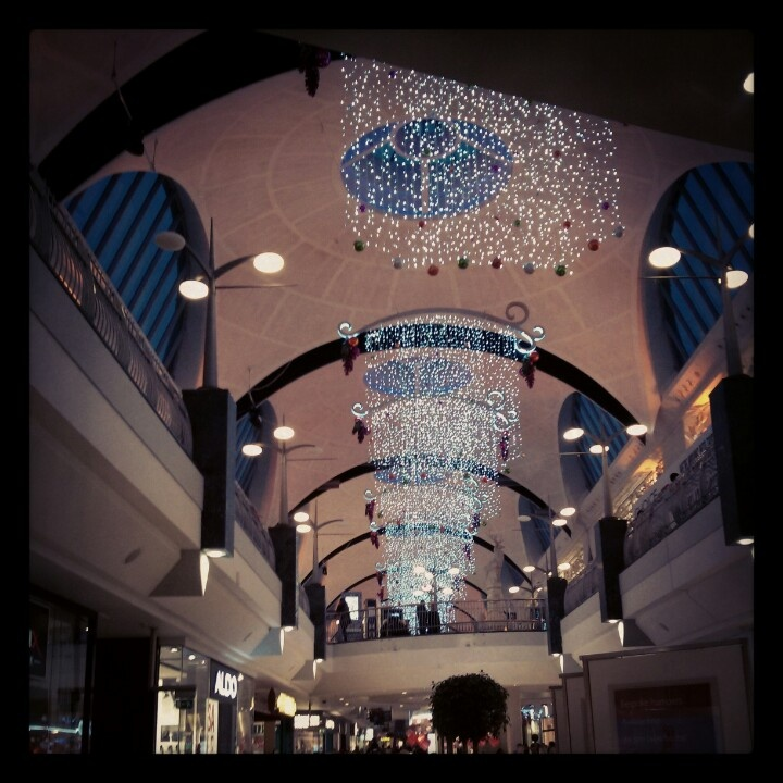 Bluewater shopping mall Christmas decorations -- so pretty