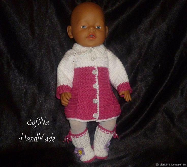 """Пальто из комплекта """"Модница"""" для кукол Беби Бон. Мастер класс – купить в интернет-магазине на Ярмарке Мастеров с доставкой"""