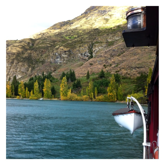 Queenstown...from the Earnslaw steamer.