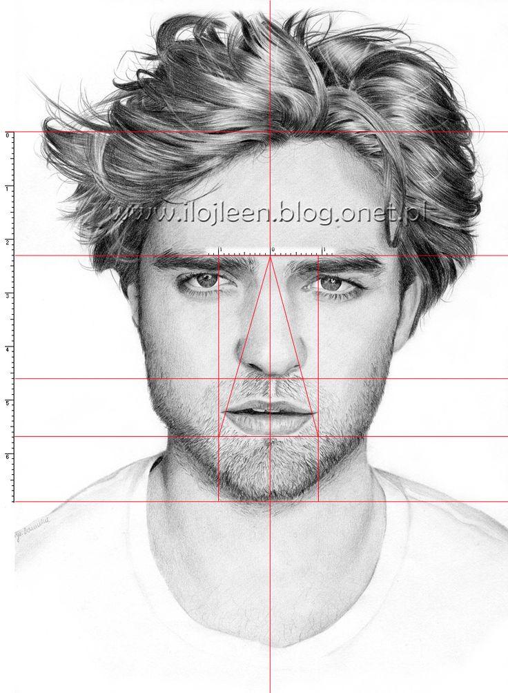 Wskazówki dla rysujących portrety i nie tylko | Ilojleen: Trzy sposoby na problemy z proporcjami twarzy