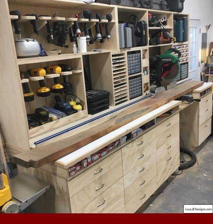 The Garage Vintage Workshop Sheffield And Garage Workbench Mechanic Garagetoolstorage Workshopstorag Woodworking Shop Layout Diy Garage Storage Garage Decor