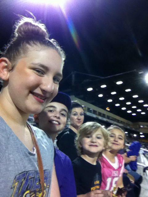 LSU.... LSU baseball game 2015 Alex box stadium!!!!