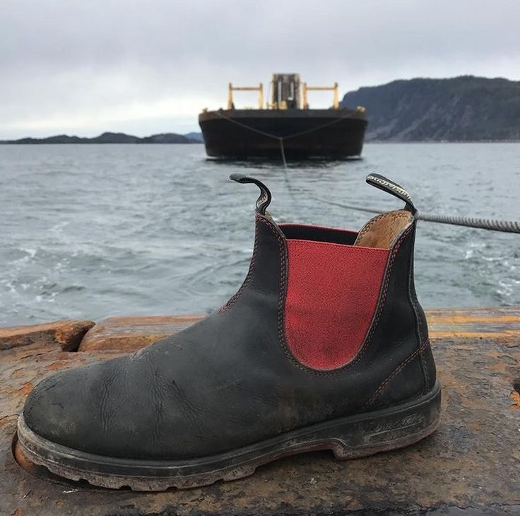 """Great boots on the tugboat, always have a pair on my feet""- @code_one Prince Rupert, BC   One of the entries from our Blundstone Canada from #ehtoz photo contest. 1.       Shoot and tag your photo #ehtoz on Instagram 2.       Fill out an entry form at ehtoz.blundstone.ca You could win your own Canadian adventure from @gadventures Get all the details at ehtoz.blundstone.ca."