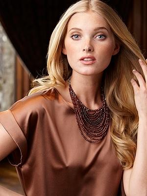 brunello cucinelli - auden hessonite necklace