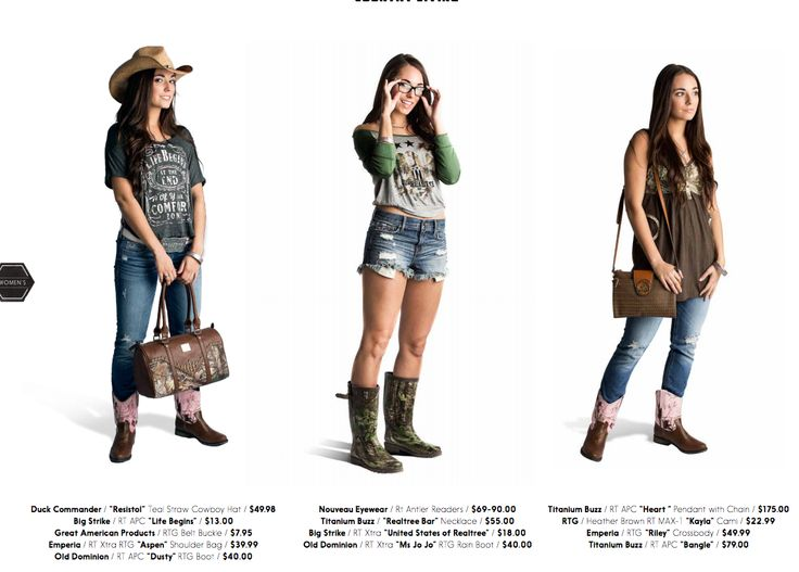 2015 Realtree Clothing for Women