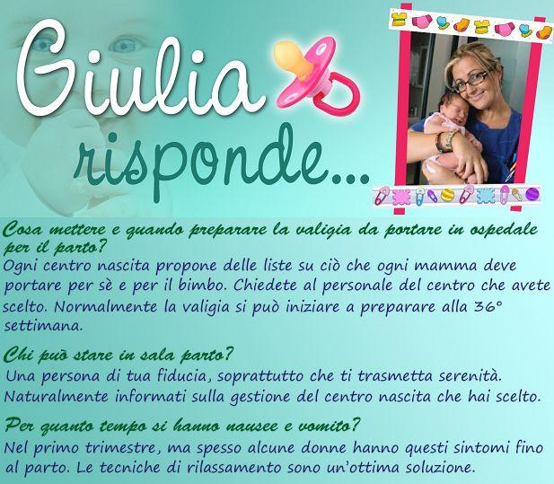 Domande, dubbi sulla gravidanza e dintorni. ;) #valigiaospedale #assiterealparto #nauseavomito
