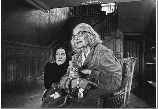 A photo of little edie with her mother big edie and one - Edith bouvier beale grey gardens ...