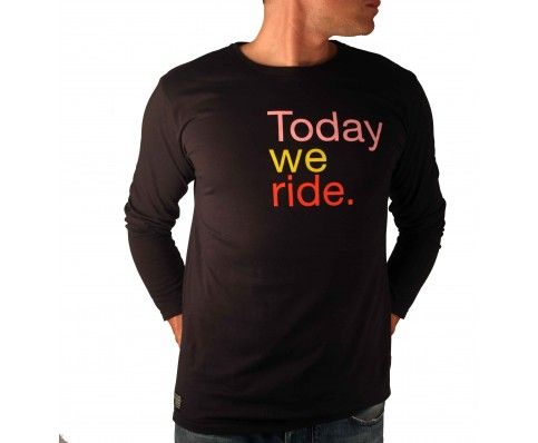 Perfect casual cycling cothing: @A'qto Racedivision's Today We Ride - Grand Tour Edition shirt