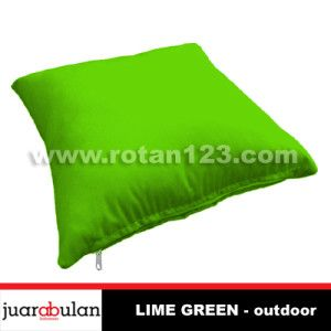 KAIN BANTAL  SOFA OUTDOOR – LIME GREEN