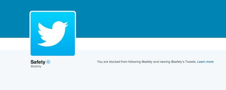 Someone blocked my account | Twitter Help Center