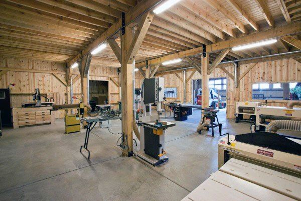 Top 60 Best Garage Workshop Ideas Manly Working Spaces Workshop Layout Home Garage Shop