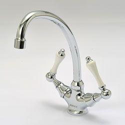おしゃれでお求め安い洗面水栓 輸入水栓蛇口 金色 アンティーク色