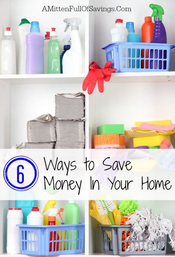 6 easy ways to save money in your home easy frugal and for Ways to save for a house