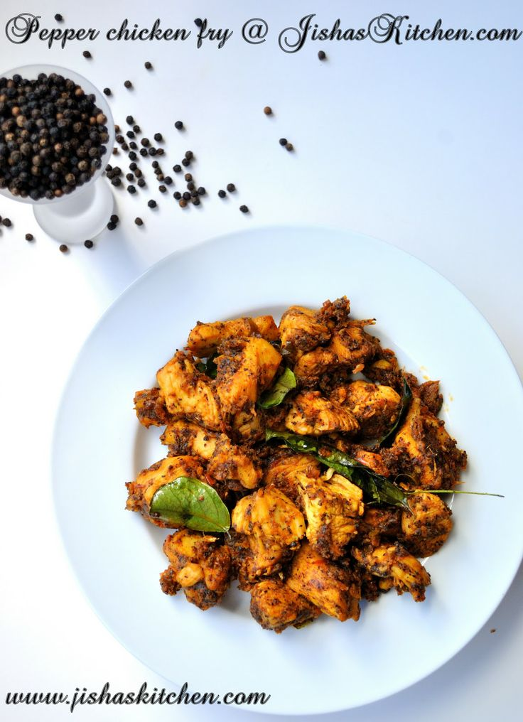 Nadan chicken pepper fry